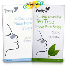 Pretty Smooth Deep Cleansing Nose Pore Strips Blackhead Removal & Unclogs Pores