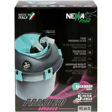 NEWA Prexo Advance ADV Pond Pressure Filter Backwash System Waterfall & Stream