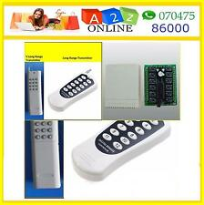 12Channel Wireless RF  Remote Control Switch ON/OFF Home Automation so model to