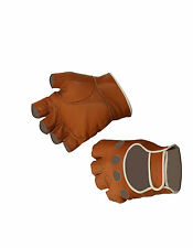 Leather cycling gloves. Ginettaccio bike Galibier mitt Eroica Britannia L'Eroica