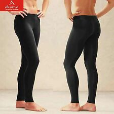 Akaira Black Multi Use Compression fabric 4x4 Lycra Pants for fitness sports gym