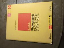 Kodak Photographic Paper Polycontrast N single weight - Unopened Exp 12/76