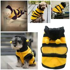 Traje Ropa Abeja para Mascotas Perro Gato Cute Fleece Bumble Bee Lovely Wings