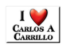 MEXICO SOUVENIR FRIDGE MAGNET RECUERDO IMAN DE NEVERA I LOVE CARLOS A CARRILLO