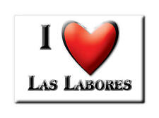 MEXICO SOUVENIR FRIDGE MAGNET RECUERDO IMAN DE NEVERA I LOVE LAS LABORES