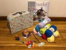 CROCHET KIT WITH CUTE & EASY BOOK BEGINNER STARTER 15 BOX STYLE AVAIL IDEAL GIFT