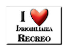 MEXICO SOUVENIR FRIDGE MAGNET IMAN DE NEVERA I LOVE INMOBILIARIA RECREO