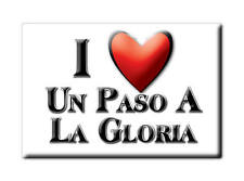 MEXICO SOUVENIR FRIDGE MAGNET IMAN DE NEVERA I LOVE UN PASO A LA GLORIA