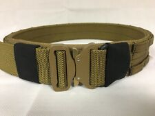 FRV tailoring coyote brown shooters belt with a D ring