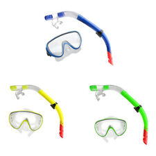 Swimming Snorkeling Scuba Diving Mask Goggles Snorkel Set w/ Breathing Tube