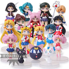 MARIN MOON 16 STATUETTES CARACTÈRES FIGURINE action Chibiusa jupiter artemis