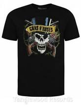 Guns N Roses - Skull & Pistols - Greatest hits album cover t shirts