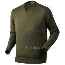 Seeland Essex Jersey Jumper Sweater in Shaded Olive Green 15 020 44 26