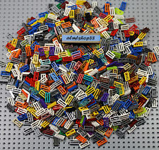 LEGO - 1x2 Tiles w/ Grille Assorted - Part #2412 City Town Castle Bulk Lot