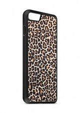iPhone leopardata SIMILPELLE silicone custodia flip Custodia cover