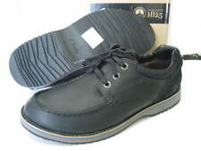 NEW CLARKS MAHALE EDGE BLACK LEATHER SHOES SIZE 8/42