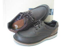 NEW CLARKS MAHALE EDGE BROWN LEATHER SHOES SIZE 8/42