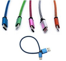 USB Type C Type-C 25CM Cable for Huawei LG OnePlus Meizu Xiaomi