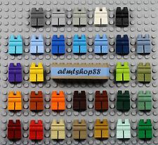 LEGO - Minifigure Legs - PICK YOUR COLORS - Plain Solid Blank Body Parts Hips