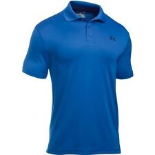 Under Armour Performance Mens T-shirt Polo Shirt - Blue Marker All Sizes