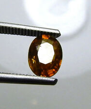 Strong Flash Fire 1.59ct Natural Untreated Sphene 9x7mm Sri Lanka - USA Seller