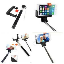 Monopod Selfie Stick Telescopic Wired Remote Moble Phone holder For All Phones