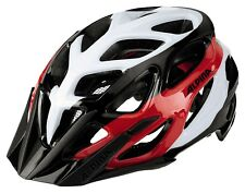Alpina Mythos 3.0 Fahrrad Helm Bike Radhelm MTB Sporthelm - black white red