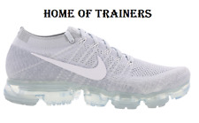 Nike Air Vapormax Flyknit Pure Platinum White Wolf Grey Men's Trainers All Sizes