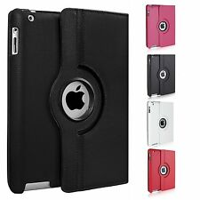 360 Degree Rotating Smart Stand Case Cover For Apple iPad 9.7 2017, Air,Mini 1 2