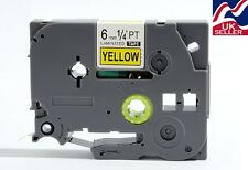 1-36x 6mm TZE S611, TZ S611 tape black/yellow for BROTHER P-TOUCH label printers