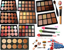 New CONCEALER Palette 15 Colors ,Fix Contour Cream Face Makeup with Sponge Brush
