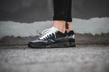 NIKE donna Air Max 1 Ultra Flyknit 859517 001 NERO