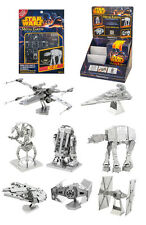 Metal Earth Star Wars 3D Laser Cut Metal Miniature Model Kits Self Build