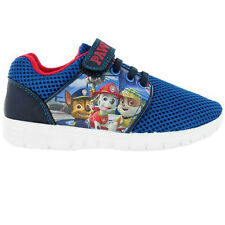 Boys Kids Quality Glenbeigh Paw Patrol Cartoon Touch Trainer Character Shoe