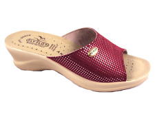 CIABATTE DONNA FLY FLOT 96157 2E ROSSO - MADE IN ITALY