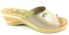 CIABATTE DONNA FLY FLOT 96157 2E BEIGE - MADE IN ITALY