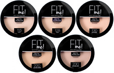 "Maybelline Fit Me Matte & Poreless Pressed Powder ""Various Shades"" + FREE POST"