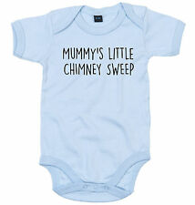 CHIMNEY SWEEP BODY SUIT PERSONALISED MUMMY'S LITTLE BABY GROW NEWBORN GIFT