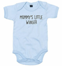WINGER BODY SUIT PERSONALISED MUMMY'S LITTLE BABY GROW NEWBORN GIFT