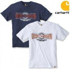 Carhartt Herren Men T-Shirt Maddock Graphic Work Crew 102095 Shirt Oberteil Work