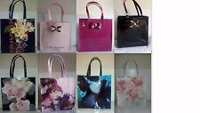 TED BAKER CRYSTAL BOW ICON/PLAIN BOW LARGE ICON SHOPPER BAG