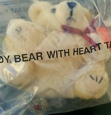 AVON 1994 TEDDY BEAR with HEART TAC PIN New/Rare