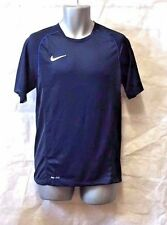 NIKE FOUNDATION 12 TRAINING TOP OBSIDIAN/ROYALBLUE ADULT SMALL RRP £17  BNWT