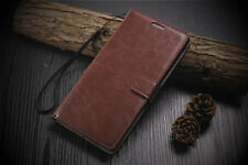 VINTAGE STYLISH LEATHER FLIP WALLET COVER BACK CASE FOR SONY XPERIA C4 & C4 DUAL