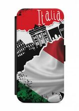SAMSUNG GALAXY ITALIA CALCIO BANDIERA Custodia Flip case cover SCHUT