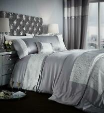 Catherine Lansfield Luxor Jacquard Duvet Cover Bed Set, Bedspread or Curtains