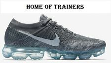 Nike Air VaporMax Flyknit Dark Grey Pure Platinum unisex Trainers All Sizes