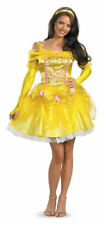 Belle Beauty And The Beast Disney Princess Dress Ball Gown Halloween Costume