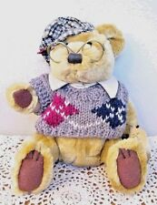 BRASS BUTTON BEAR COLLECTION 1959 SHERWOOD IN SWEATER & HAT 11