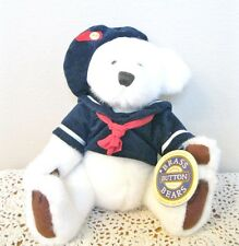 BRASS BUTTON BEAR COLLECTION 1996 TAYLOR NAVY SHIRT & HAT 11